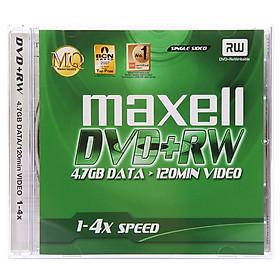 Đĩa Trắng Ghi Thông Tin Maxell DVD + RW 4.7G