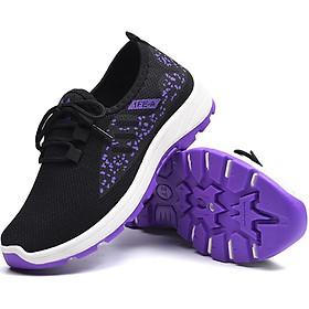 Giày sneaker thể thao nữ buộc dây siêu nhẹ V223
