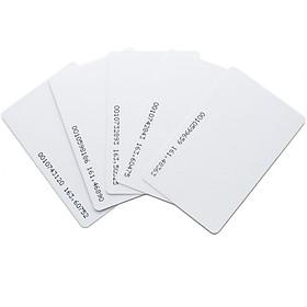 [Set 100 thẻ] Thẻ từ máy chấm công tần số 125Khz - loại mỏng 0.8m