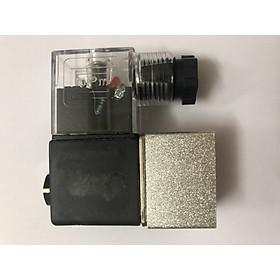 Hình ảnh Van điện từ máy nén khí sạch - van điện từ máy nén khí không dầu giảm âm