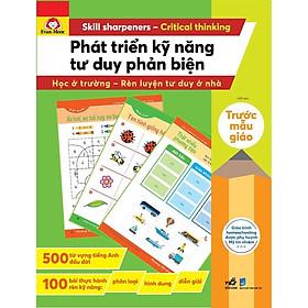 Sách - Bộ Phát triển kỹ năng Tư duy phản biện (tặng kèm bookmark thiết kế)
