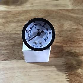 Đồng hồ đo áp suất nước, khí nén, áp kế, van đo áp suất Y40, 0~1 Mpa (0~10 kg / cm2)