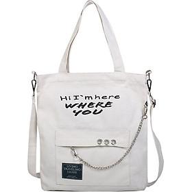 Túi vải tote nữ, túi đeo chéo, túi đeo vai TV015
