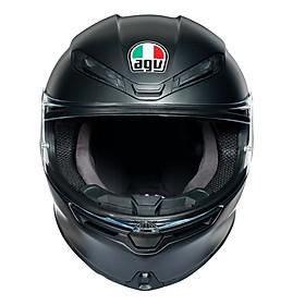 Nón Bảo Hiểm Fullface - AGV K6 MATT BLACK - Hàng Nhập Khẩu Thương Hiệu Ý