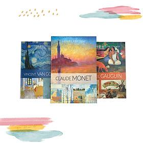 Combo Sách Danh Họa Nổi Tiếng Larousse: Vincent Van Gogh + Claude Monet + Paul Gauguin (Tặng Kèm Hộp Đựng Sang Trọng)