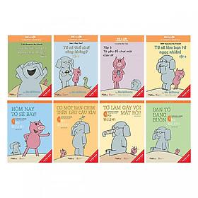 Combo Picture Book Song Ngữ: Voi & Lợn (Bộ 8 cuốn truyện kể cho bé trước giờ đi ngủ song ngữ) - Tặng kèm postcard GreenLife