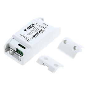 Công Tắc Điện Wifi Điều Khiển Từ Xa Tự Động Hóa MoĐun SONOFF Trắng (433MHz) (10A/2200W)