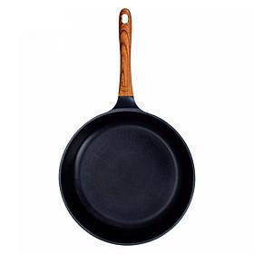 Chảo đúc ceramic màu xanh (dùng được tất cả các bếp, kể cả bếp từ)