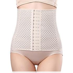 Đai nịt bụng định hình eo thon giảm mỡ tông màu da, tôn dáng không lộ giúp chị em phụ nữ diện váy cực xinh phù hợp cho dân văn phòng, phụ nữ sau sinh, người tập thể dục