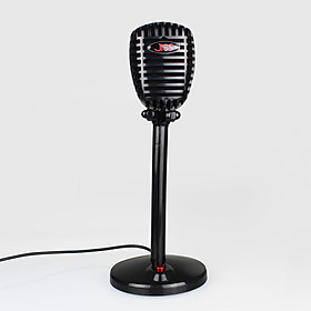 USB/3.5mm Computer Microphone, Plug & Play Desktop Omnidirectional Condenser PC Laptop Mic, with Independent Switch for Voice/Video Chat Conference