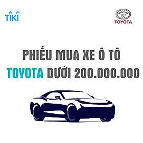 Phiếu mua xe Ô TÔ TOYOTA - V2