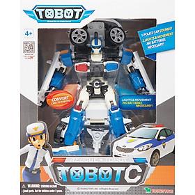 Đồ Chơi Lắp Ráp Tobot Biến Hình Thành Xe Cảnh Sát Rescue Tobot C Young Toys