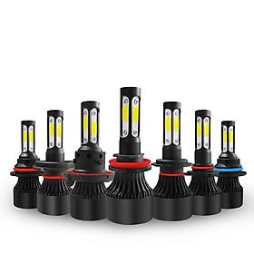 2PCS 9004/HB1 9007/HB5 9005/HB3/H10 9006/HB4 H4/HB2/ 9003 H7 H8/H9/H11 H13/9008 12V S2 LED Headlight Lamp