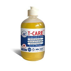 Thảo dược Vệ Sinh Sát Khuẩn T-Care 500ml (Siêu đậm đặc - Tẩy sạch các vết ố bẩn trên bề mặt sàn nhà, nội thất ô tô, đồ dùng và dụng cụ - Sát khuẩn, loại bỏ mầm bệnh trên bề mặt)