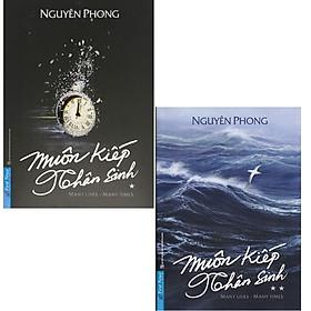 Sách Muôn kiếp nhân sinh trọn bộ 2 tập (bìa mềm) tăng bookmark Bookcity