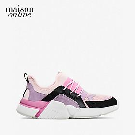 SKECHERS - Giày sneaker trẻ em Block Homeroom 302228L-BLVP