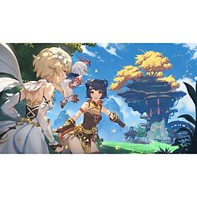 Poster 8 tấm Genshin Impact anime chibi tranh treo album ảnh in hình đẹp (MẪU GIAO NGẪU NHIÊN)