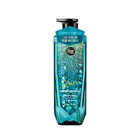Sữa tắm nước hoa cao cấp giúp ngăn ngừa tác hại của tia UV, ngăn ngừa quá trình lão hóa, tăng cường collagen giúp da mịn màng, sáng hồng SHOWERMATE GLAM GREEN CRYSTAL 800g - Hàn Quốc Chính Hãng
