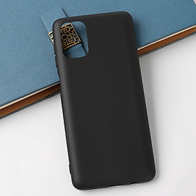 Ốp lưng silicon dẻo màu đen cho Samsung Galaxy M51