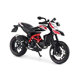 Mô Hình Xe Ducati Hypermotard SP 2013 White 1:12 Maisto MH-31101(20-13015)