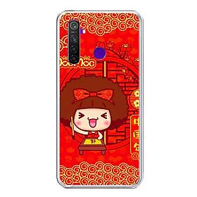 Ốp lưng điện thoại Realme 5 Pro - Silicon dẻo - 0443 MOCMOC01 - Hàng Chính Hãng