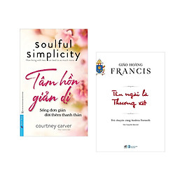 Combo 2 cuốn sách:  Tâm Hồn Giản Dị + Tên ngài là thương xót