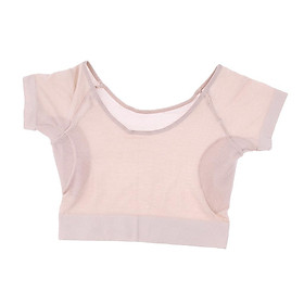 1 Piece T shirt with Underarm Sweat Pads