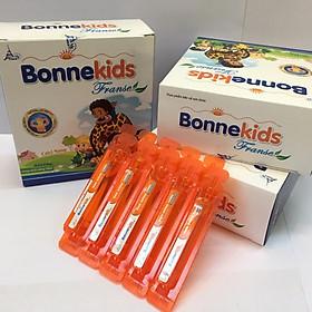 Combo 2 Bonnekids Franse - Bổ sung canxi cho bé chậm phát triển chiều cao với bộ 3 Canxi Nano, Vitamin D3, MK7