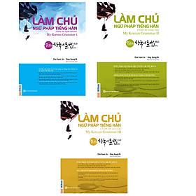 Combo 3 Cuốn Làm Chủ Ngữ Pháp Tiếng Hàn ( tái bản) - Tặng bookmark TÙY CHỌN