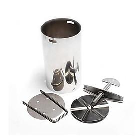 Khuôn làm giò lụa, giò xào, chả inox tiện dụng loại 1kg