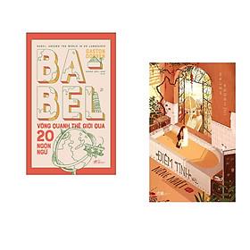 Combo 2 cuốn sách: Babel vòng quanh thế giới qua 20 ngôn ngữ + Điềm tĩnh và nồng nhiệt  - Đỏ