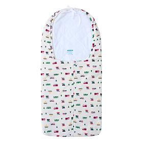 Túi Ngủ Chần Bông Có Nón Cho Bé BabyOne TN0875 (38 x 70 cm) - Giao Mẫu Ngẫu Nhiên