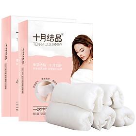 Đồ Lót Cotton Dùng 1 Lần Cho Mẹ Sau Sinh October SH376 (5 cái × 2 gói)