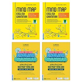 Combo Hướng Dẫn Sử Dụng Ngữ Pháp Tiếng Anh + Mind Map English Grammar – Ngữ pháp tiếng anh bằng sơ đồ tư duy