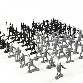 Bộ 60 Quân Lính Nhựa Đồ Chơi Cho Bé