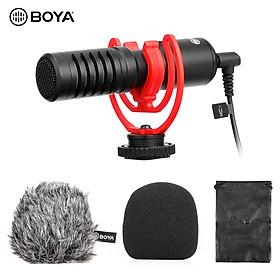 Micro thu âm chuyên nghiệp BOYA BY-MM1+ sử dụng kiểu nhận âm thanh SuperCardioid