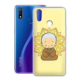Ốp lưng dẻo cho Realme 3 Pro - 01221 7797 CHUTIEU03 - Hàng Chính Hãng