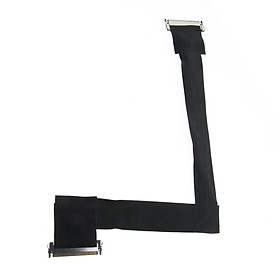Display LCD LVDs Flat Ribbon Flex Cable Connectors for A1312 27 Inch (1 Pack)