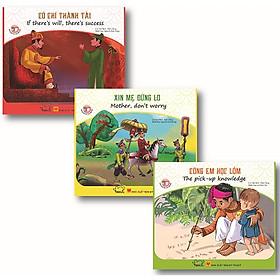 Bộ Sách Song Ngữ - Danh Nhân Việt Nam 2 (Bộ 3 Cuốn)