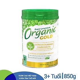 Sữa Bột Vinamilk Organic Gold Step 4 (850g / Hộp Thiếc)