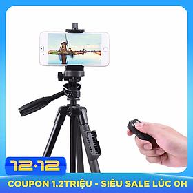 [Chân chụp ảnh] Chân đế Tripod Bluetooth cho điện thoại và máy ảnh TTX - 6218 (Kèm túi đựng và remote bluetooth) - Hàng nhập khẩu