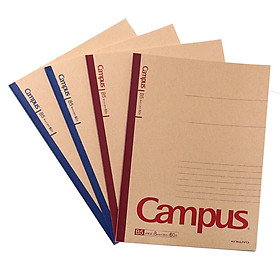 KOKUYO Campus Kraft Paper Binding Paper / Notepad / Soft Copy B5 / 60 Page 4 This color comes with WCN-CNB1615