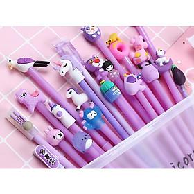 Túi 20 chiếc bút bi sunzin siêu dễ thương (hoạt hình ngẫu nhiên)