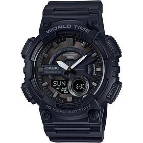 Đồng hồ nam dây nhựa Casio AEQ-110W-1BVDF