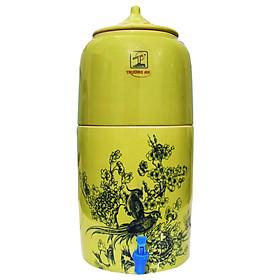 Bình lọc nước bằng sứ  Trường An  - Thiết bị lọc nước - đồ dùng gia đình -  Hàng chính hàng -Gốm sứ cao cấp - Hàng  sản xuất tại Việt Nam