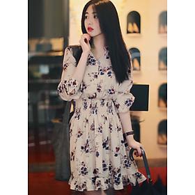 Đầm Hoa Xinh Dễ Thương Thời Trang Kiểu Hàn Quốc DN015 MayHomes