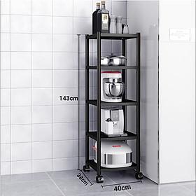 Kệ để lò vi sóng đa năng Inox 304 cao cấp Vando chính hãng kệ để đồ lò nướng chắc chắn, sơn tĩnh điện chống bong tróc, kệ nhà bếp siêu chịu lực 300kg