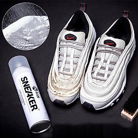 Bình Xịt Bọt Tuyết Nhật Vệ Sinh Giày Khô Siêu Sạch Sneaker Tiện Lợi Dùng Được Nhiều Lần - PK042