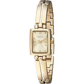 Đồng hồ nữ Đồng hồ nữ Anne Klein Women's 10-5404CHGB Gold-Tone Dress Watch