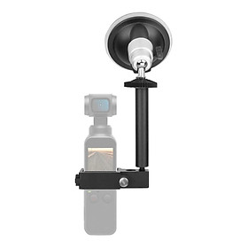 Camera Car Bracket Suction Cup Holder Windshield Mount Stand Aluminum Alloy Replacement for DJI Osmo Pocket/ Pocket 2